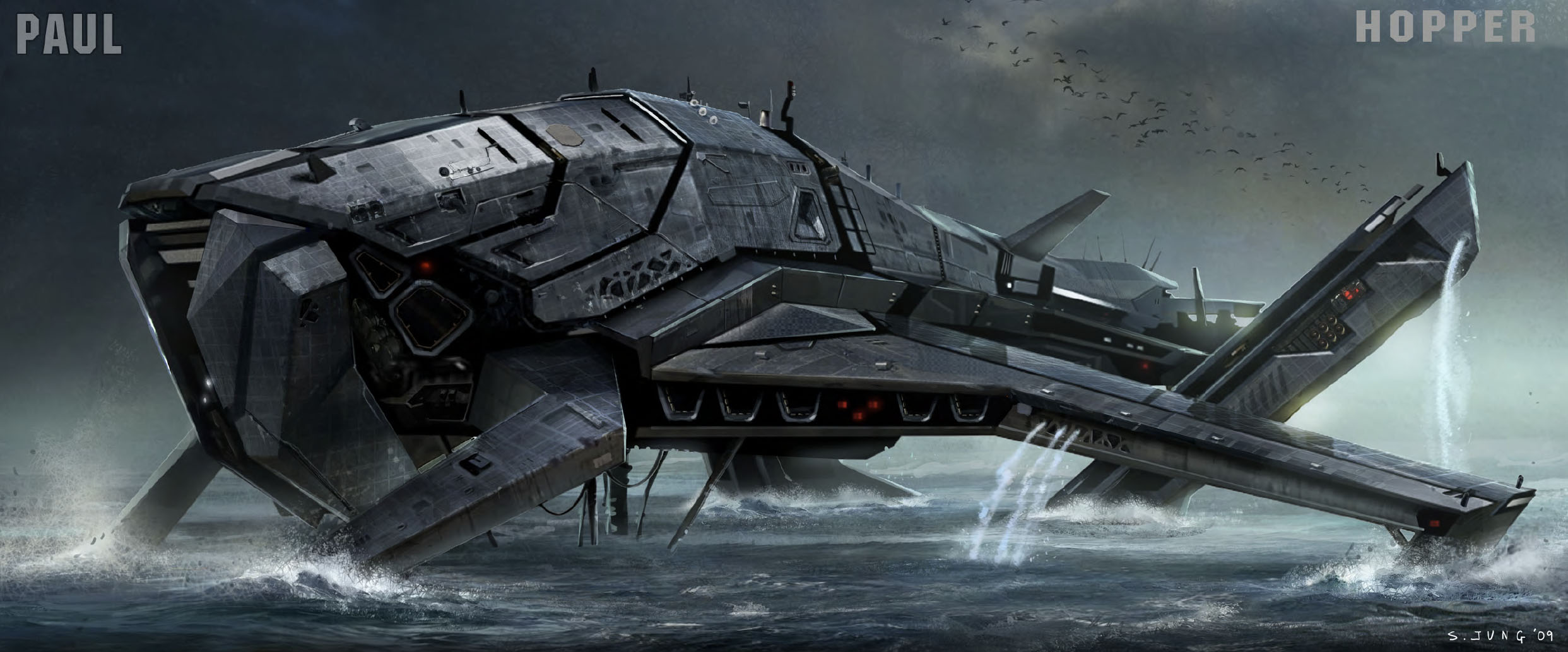 Battleship Movie Alien Ship Design | www.imgkid.com - The ...